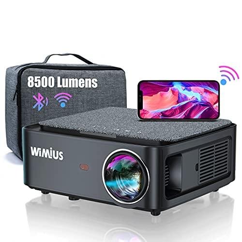 Beamer, Full HD 1080P 8500 Lumen Beamer 5G...