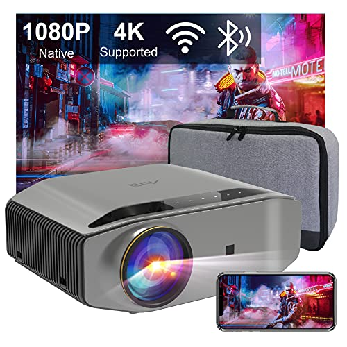 Beamer Full HD WLAN Bluetooth - Artlii...
