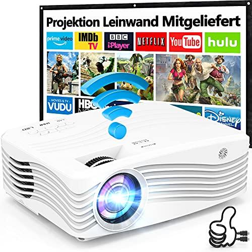 8500L Native 1080P Full HD WiFi Beamer [Mit...