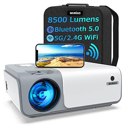 Beamer, WiMiUS 8500 Lumen Full HD 1080P...