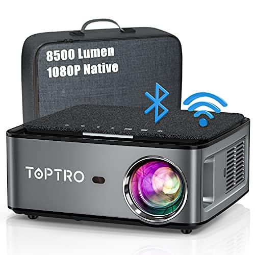 Beamer, 8500 Lumen Beamer Full HD, WiFi...