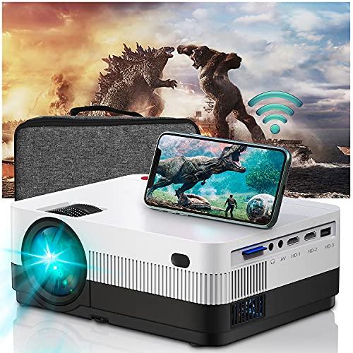 WiFi Beamer Full HD, Home Cinema Heimkino...